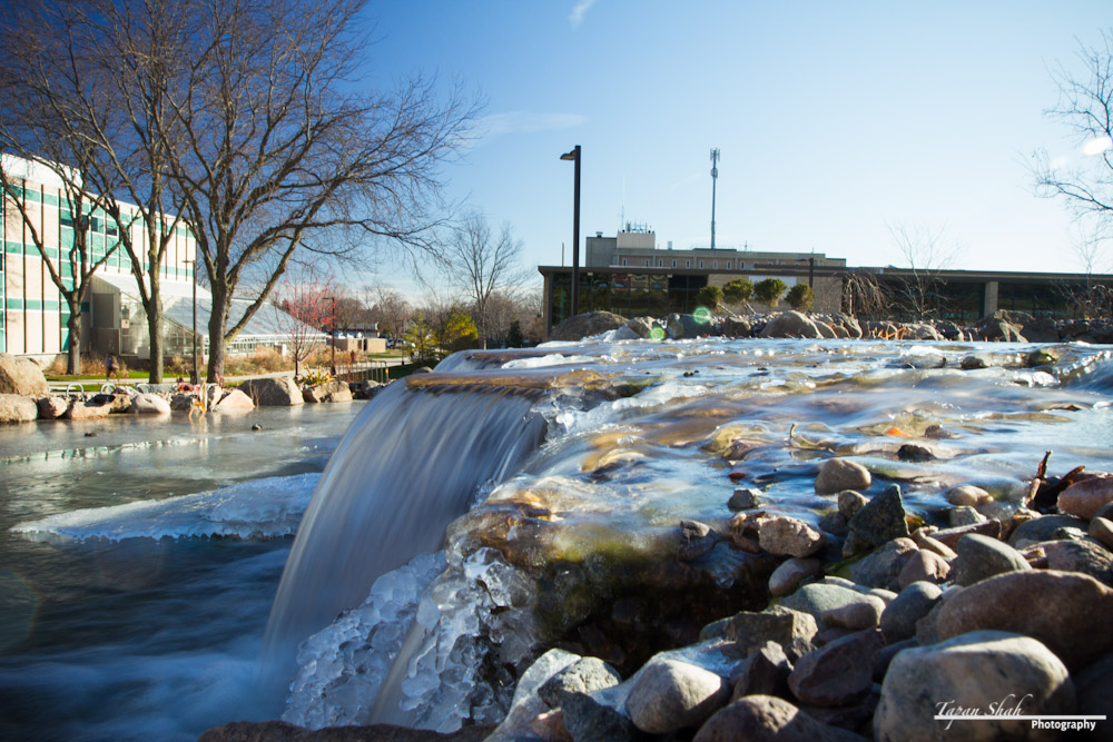 UC-Mall Fountain with Ice